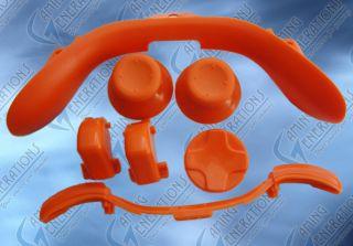 xbox 360 custom controller series 7 in 1 orange