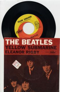THE BEATLES YELLOW SUBMARINE ELEANOR RIGBY LISTEN