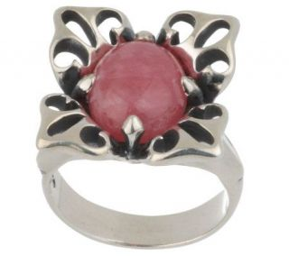 Carolyn Pollack Sterling Mojave Lily Petal Ring —