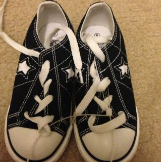 Converse Toddler boy Or Girl Unisex Black School sneaker low top shoes