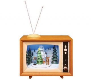 Animated Illuminated and Musical Rudolph TV byRoman —