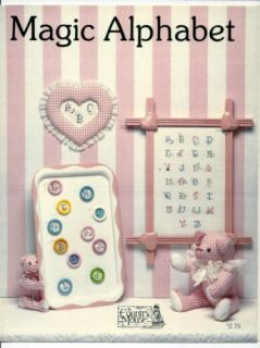 The Country Mouse Magic Alphabet Cross Stitch Leaflet