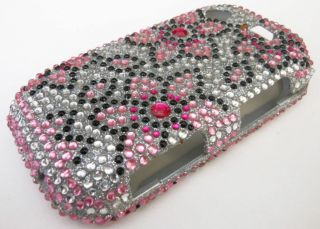 BLING DIAMOND PHONE COVER CASE SAMSUNG MESSAGER TOUCH R630 CRICKET