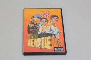 Beastie Boys The Criterion Collection DVD 2 Disc Poster Booklet PAL UK