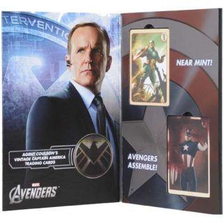 Marvel Avengers Agent Coulson Captain America Trading Card Set