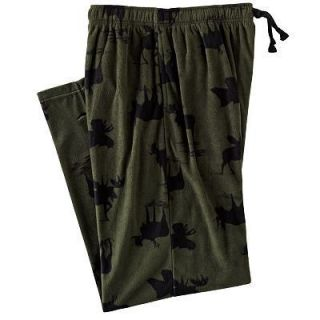 Croft & Barrow Moose Microfleece Lounge Pants   S