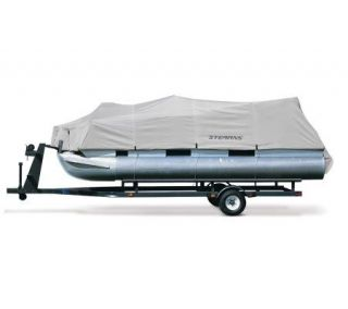 Hurricane Pontoon Boat Cover 21L 24L with Beam Width to 96