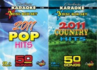 2011 COUNTRY & POP HITS KARAOKE CHARTBUSTER CDG   100 AWESOMES SONGS 6