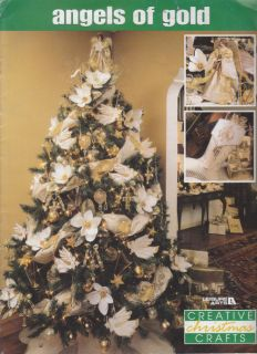 Craft Books 1566 Angels of Gold Christmas Crafts
