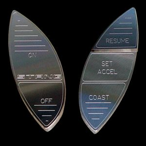 94 04 Mustang Designer Billet Cruise Control Button Set