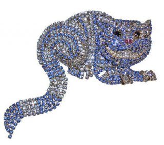Kirks Folly Couture Cheshire Cat Pin —