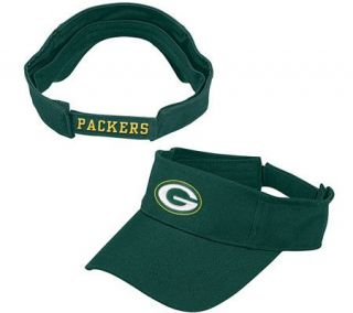 NFL Green Bay Packers Logo Visor —