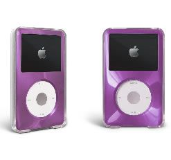 Purple Apple iPod Classic Hard Case Cover 7th Gen 160GB 6th 80GB 120GB