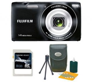 Fujifilm FinePix JZ100 14MP,8x Optical Zoom Digital Camera Kit