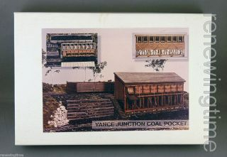 Crystal River Products VANCE JUNCTION COAL POCKET HO Scale kit 117 11