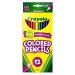crayola colored pencils 12 ct itemid cray 7166204012ea