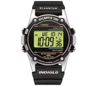 Timex Mens Atlantis 100 Polyurethane Strap Watch   J108984