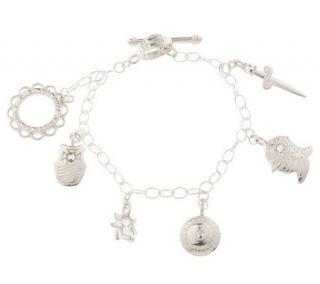 Full Armor of God Silver Bracelet by Catherine Galasso —