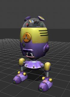 Kubix Character Cerebrix 2001 Electronic Talking Robot
