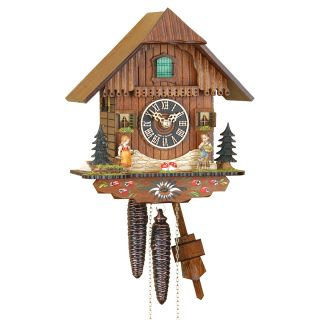 Cuckoo Clock Hansel Gretel Black Forest 1 Day New