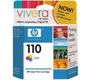 HP 110 Tri color Inkjet Print Cartridge —