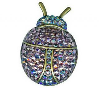 Kirks Folly Choice of Lady Bird Sparkle LadybugPin —