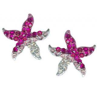 Kirks Folly Choice of Ocean Beach Starfish Pierced Earrings   J111498