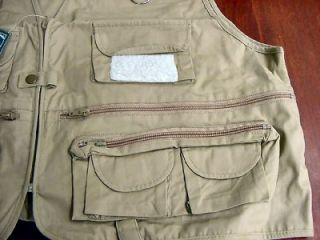 Brand New Crystal River Shorty Fly Fishing Utility Vest Size XXL