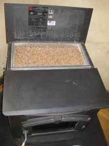 American Harvest Corn and Pellet Multi Fuel Stove with Accessories