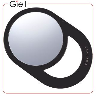 Cricket Oval Styling Mirror Black For Hair Salon