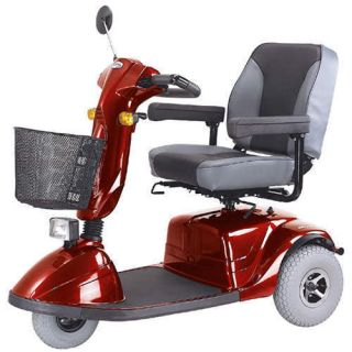 CTM HS 730 Power Scooter Captains Chair Flat Free Tires