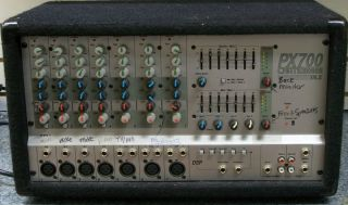 Crate PX700DXL 7 Channel Powered Mixer in Great Condition