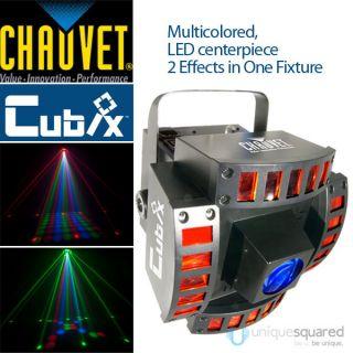 CHAUVET CUBIX LED DJ DMX CENTERPIECE MULTI COLOR LIGHTING EFFECT