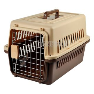 Guardian Carry Me Pet Crates Plastic Hard Sided Pet Carrier Dog Cat