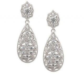 Tacori IV Diamonique Epiphany 1.00 ct tw Dangle Earrings —