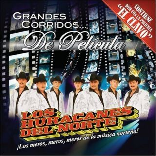 Grandes Corridos CD DVD Los Huracanes Del Norte Incluye Pelicula El