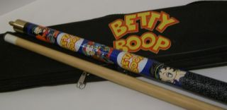 Biker Betty Boop Harley Pool Cue Billiard Stick Case