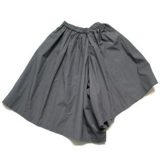 Comme Des Garcons Vintage Grey Cotton Culottes Shorts