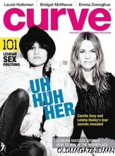 Curve Magazine May 2011 Leisha Hailey Laurel Holloman