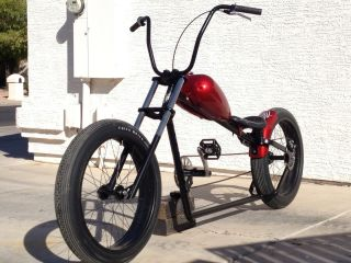 Custom chopper bobber bicycle rat hot rod bike cruiser beach VW Jesse