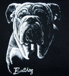 Bulldog Custom Art Dog Design Sweatshirt T Shirt W732