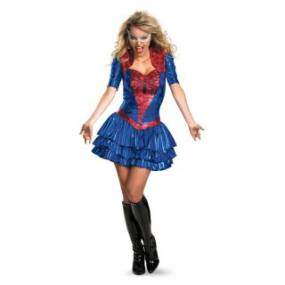 Spider Girl Deluxe Sexy Costume Dress Adult *New*