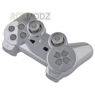 and Chrome Silver Custom Housing Shell for PS3 Controller Tools