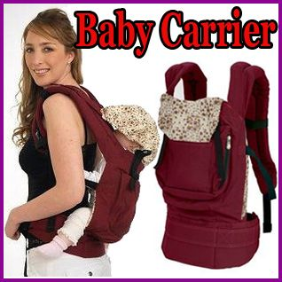 Cotton Baby Carrier Infant Comfort Backpack Sling Wrap