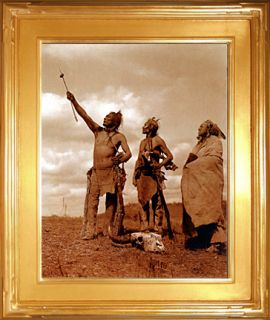 The Oath Edward s Curtis Native American Indian Art