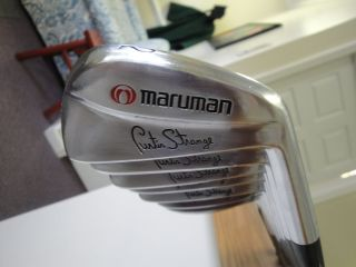 MARUMAN Curtis Strange Irons Miura Forged 2 PW Golf Clubs Tour Issue