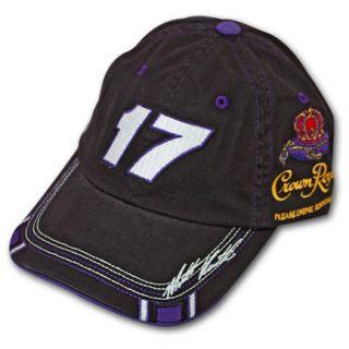 Crown Royal NASCAR Matt Kenseth Black Adjustable Cap