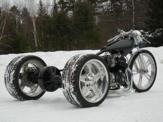 Trike Rear End Chain Drive Honda Harley Davidson Custom Trike
