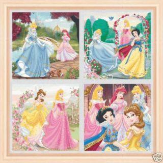 540 Schemi x Punto Croce Principesse Disney Omaggi