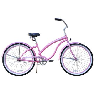 Beach Cruiser Bicycle Bike Firmstrong Bella Classic 26 Womens Pink w